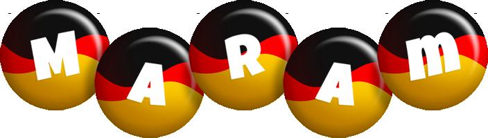 Maram german logo