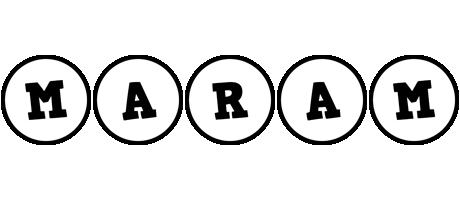 Maram handy logo