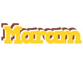 Maram hotcup logo