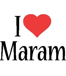 Maram i-love logo