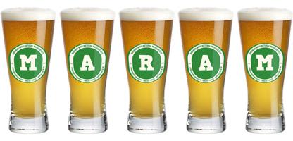 Maram lager logo