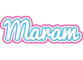 Maram outdoors logo