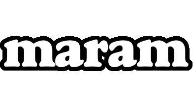 Maram panda logo