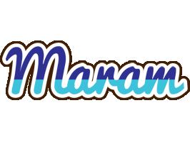 Maram raining logo