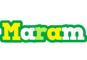 Maram soccer logo