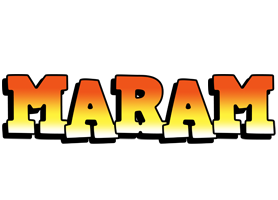 Maram sunset logo