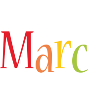 Marc birthday logo