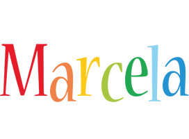Marcela birthday logo