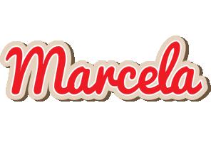Marcela chocolate logo