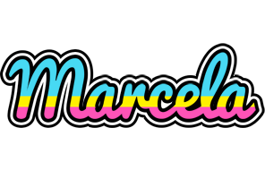 Marcela circus logo