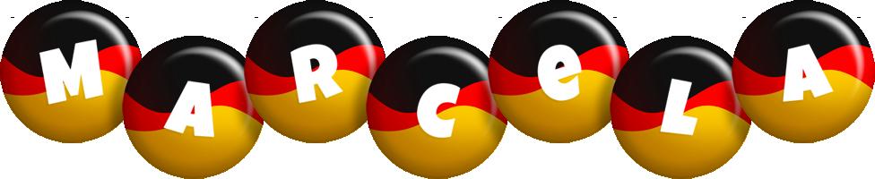 Marcela german logo