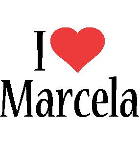 Marcela i-love logo