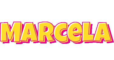 Marcela kaboom logo