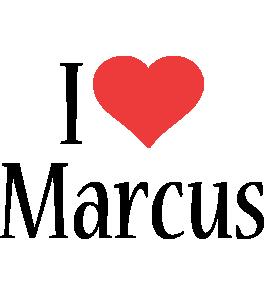 Marcus i-love logo