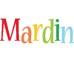 Mardin birthday logo