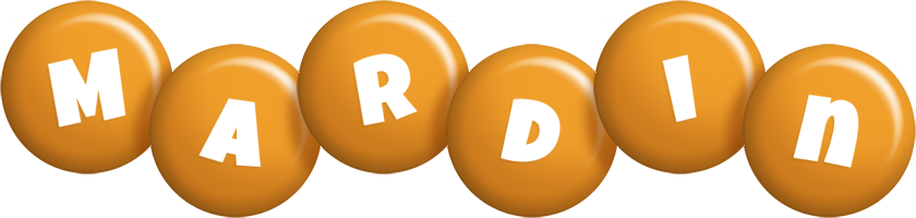 Mardin candy-orange logo
