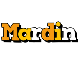Mardin cartoon logo