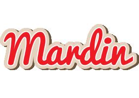 Mardin chocolate logo