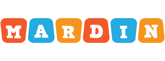 Mardin comics logo