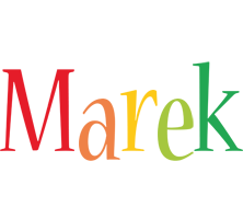 Marek birthday logo