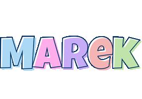 Marek pastel logo