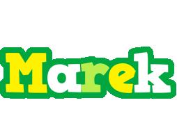 Marek soccer logo