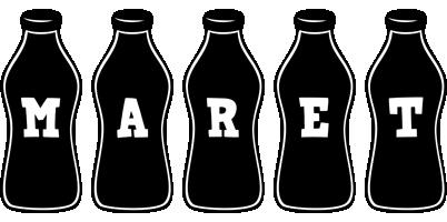 Maret bottle logo