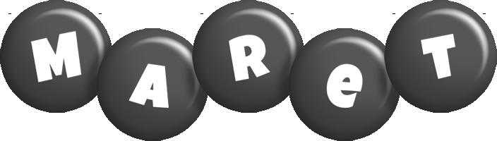 Maret candy-black logo