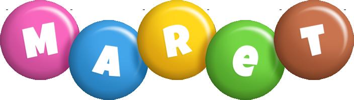 Maret candy logo