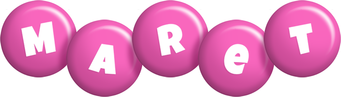 Maret candy-pink logo