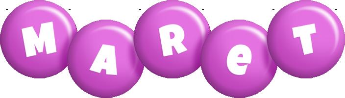 Maret candy-purple logo