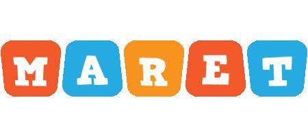 Maret comics logo