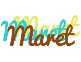 Maret cupcake logo