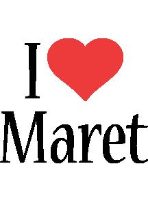 Maret i-love logo