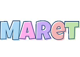 Maret pastel logo