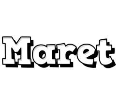 Maret snowing logo