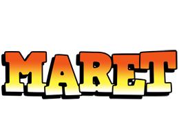 Maret sunset logo