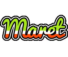 Maret superfun logo