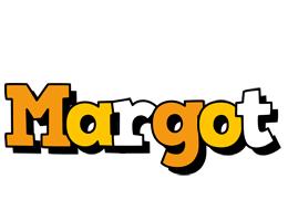 Margot cartoon logo