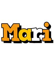 Mari cartoon logo