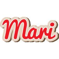 Mari chocolate logo