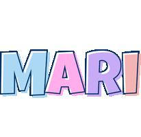 Mari pastel logo