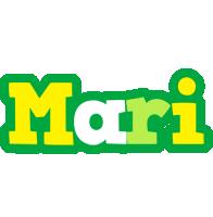 Mari soccer logo