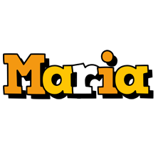 Maria cartoon logo