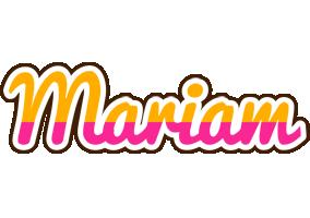 Mariam smoothie logo