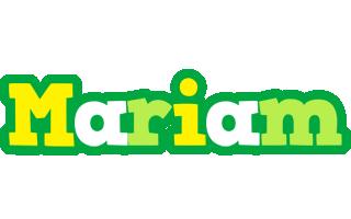 Mariam soccer logo