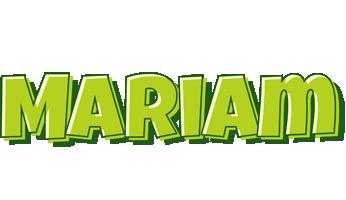 Mariam summer logo