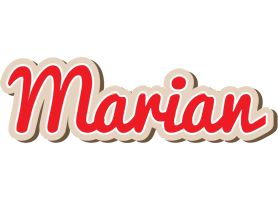 Marian chocolate logo