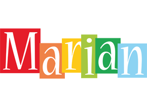 Marian colors logo