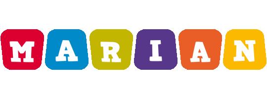 Marian daycare logo